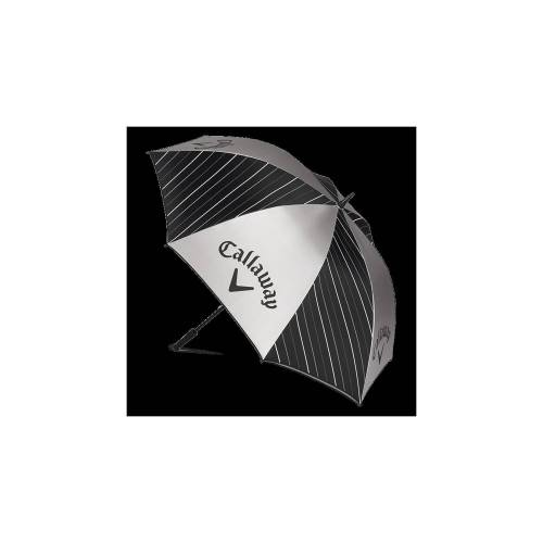 Callaway UV Regenschirm schwarz-silber-weiß 64''