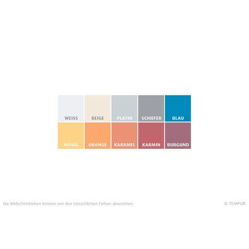 TEMPUR Jersey Kissenbezug für Comfort, Sensation und Cloud Schlafkissen 40 x 80 cm