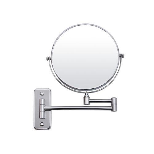 SONGMICS Ausziehbarer Kosmetikspiegel (10x)