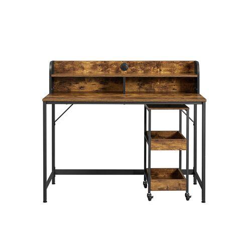 VASAGLE Schreibtisch mit Monitorständer