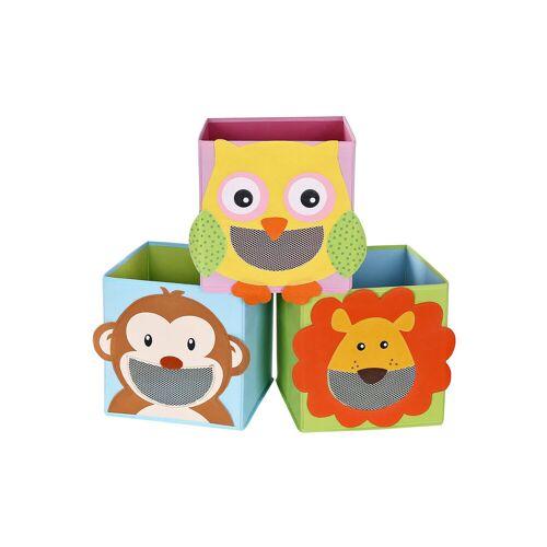 SONGMICS Spielzeugkisten 3er Set