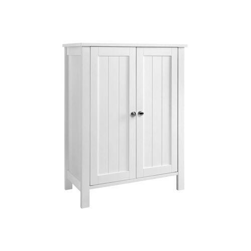 VASAGLE Badezimmerschrank mit Doppeltür