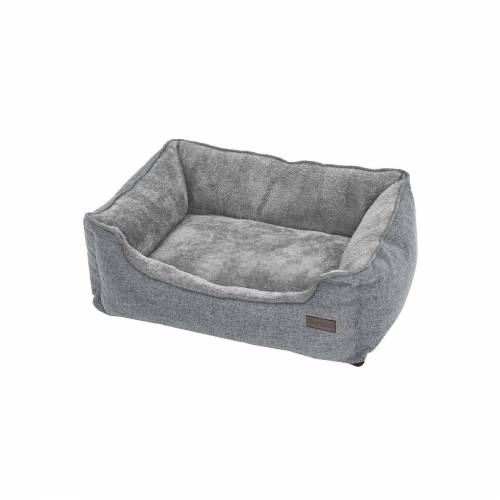 FEANDREA Waschbares Hundebett 90 cm Grau