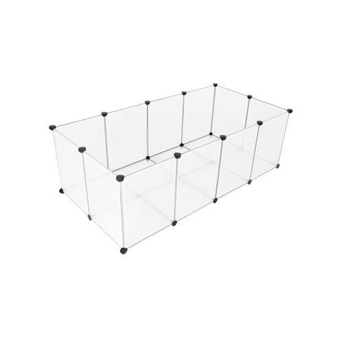 SONGMICS DIY-Käfig 20 Kunststoffplatten