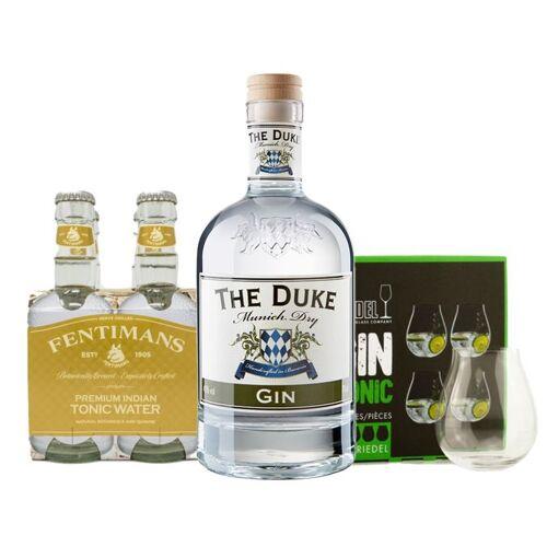 Gourmondo THE DUKE Gin & Tonic-Set mit Gläsern