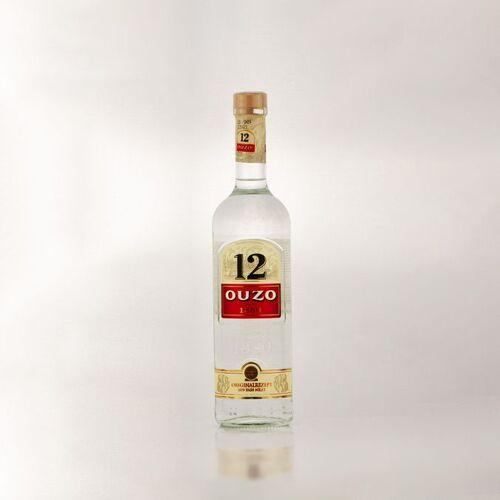 Ouzo 12 Aperitif aus Griechenland 0,7l