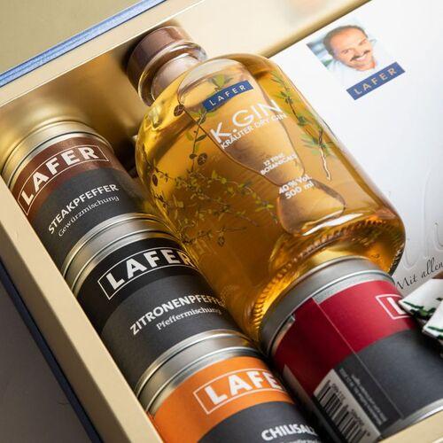 """Johann Lafer Geschenkbox """"Gin & Gewürze"""" + Gratiszugaben"""
