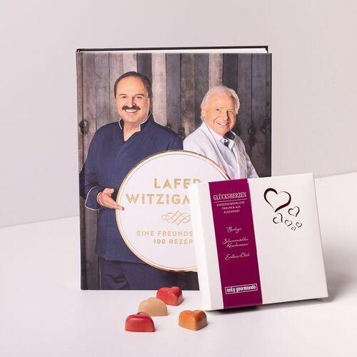 Gourmondo Rezeptbuch Eine Freundschaft - 100 Rezepte und Gourmondo Glückspralinen