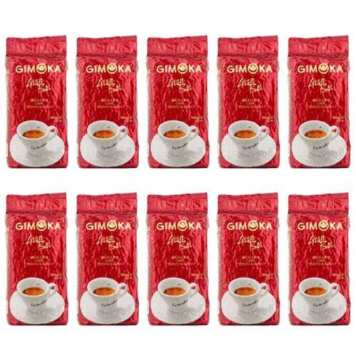 Gimoka Gran Bar Rosso Kaffeebohnen, 10x 1kg