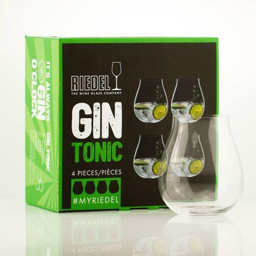Gourmondo by Riedel Riedel Gin Tonic Gläser ohne Stiel im 4er Set