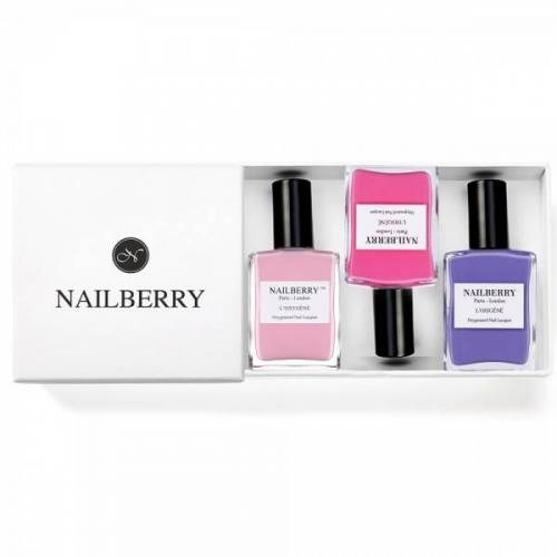 Nailberry: Nagellack Set Nailberry Frühlings Trio Box, 1 Set