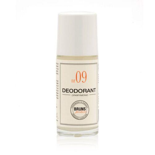 BRUNS Products: Roll-On-Deodorant Nr. 09 Unscented Deodorant (Unparfümiert), 60 ml