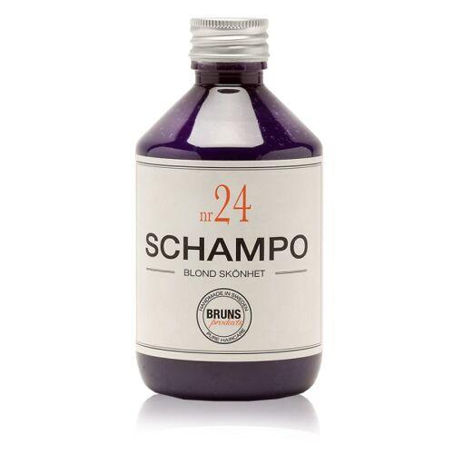 BRUNS Products: Shampoo  Nr. 24 Blond Beauty Shampoo, 330 ml
