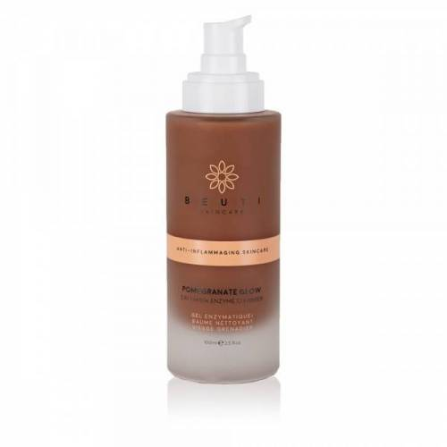 Beuti Skincare: Enzyme Peeling  Pomegranate Glow 3-in-1 Enzyme Cleanser, 100 ml