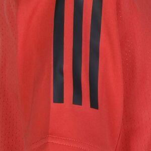 Adidas Performance RBFA Belgien  EM 2021, Gr. 152, Kinder, rot / schwarz