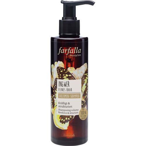 farfalla Ingwer Volumen-Shampoo - 200 ml
