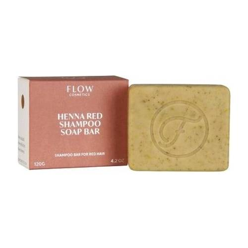 FLOW cosmetics Henna Red Shampoo Soap Bar - 120 g