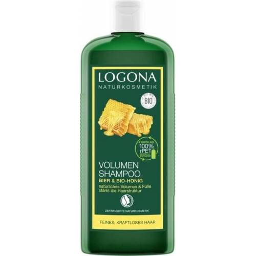 LOGONA Bier & Honig Volumen-Shampoo - 500 ml