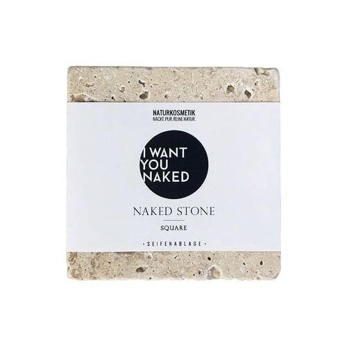I WANT YOU NAKED Naked Soap Stone - Square