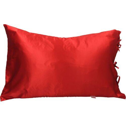 Miss TRUCCO Kissenbezug aus Seide - Rot