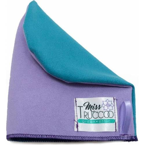 Miss TRUCCO Waschhandschuh 2-färbig aus Mikrofaser - 1 Stk