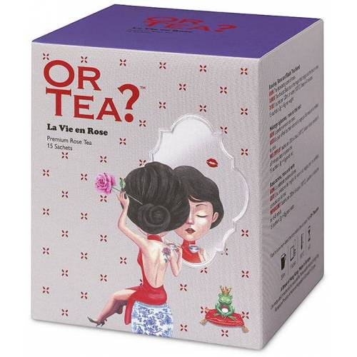 OR TEA? La Vie En Rose - Teebeutel-Box 15 Stk.