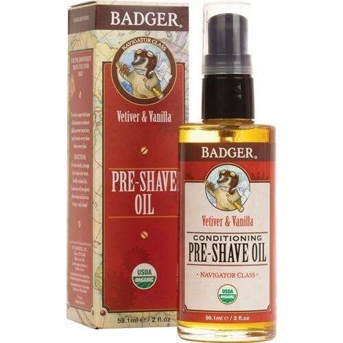Badger Balm Pre-Shave Oil - 59,10 ml