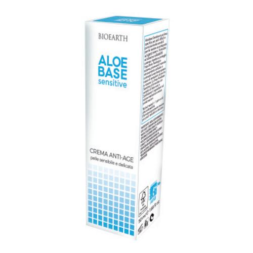 BIOEARTH Aloebase Sensitive Anti-Aging Creme - 50 ml