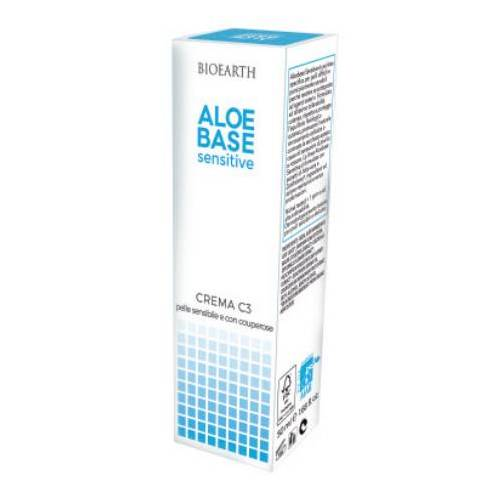 BIOEARTH Aloebase Sensitive Crema C3 - 50 ml