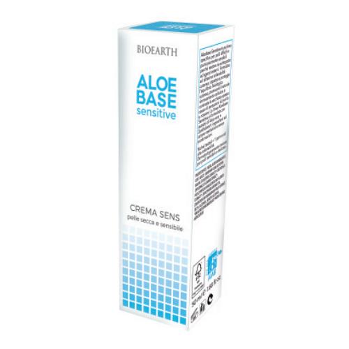BIOEARTH Aloebase Sensitive Crema Sens - 50 ml