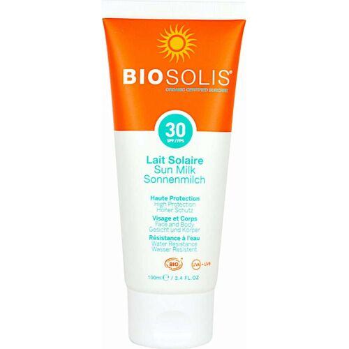 Biosolis Sonnenmilch LSF 30 - 100 ml