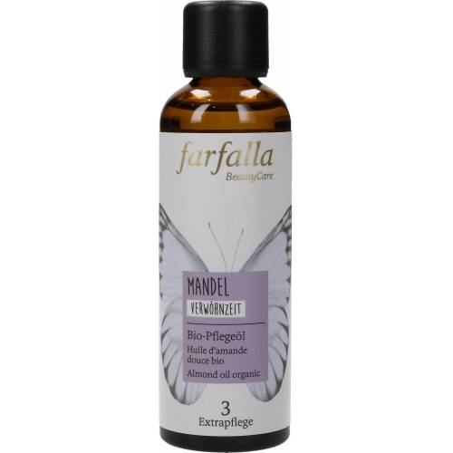 farfalla Bio-Pflegeöl Mandel - 75 ml