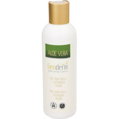 Geoderm Gel Aloe Vera, Marigold & Argan - 200 ml