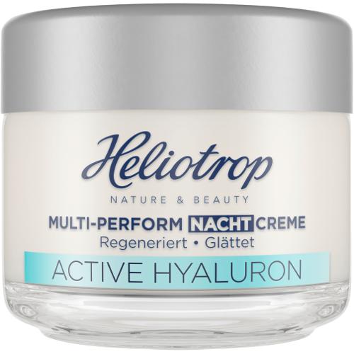 Heliotrop NATURE & BEAUTY ACTIVE HYALURON Multi-Perform Nachtcreme - 50 ml