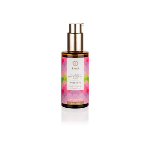 Khadi® Skin & Soul Körperöl Pink Lotus Beauty - 100 ml