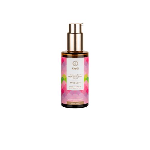 Khadi® Skin & Soul Körperöl Rose Love - 100 ml