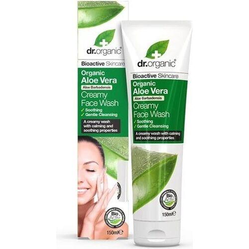 dr. organic Organic Aloe Vera Face Wash - 150 ml