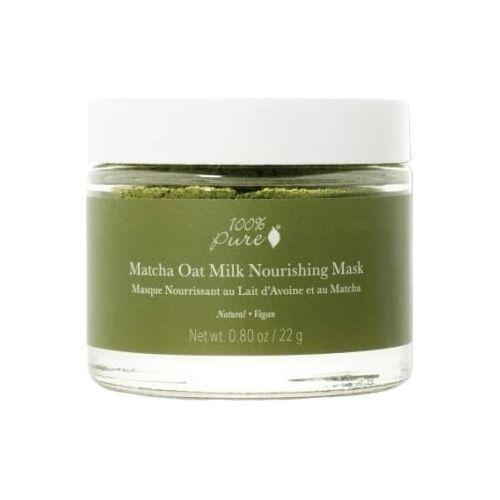 100% Pure Matcha Oat Milk Nourishing Mask - 22 g