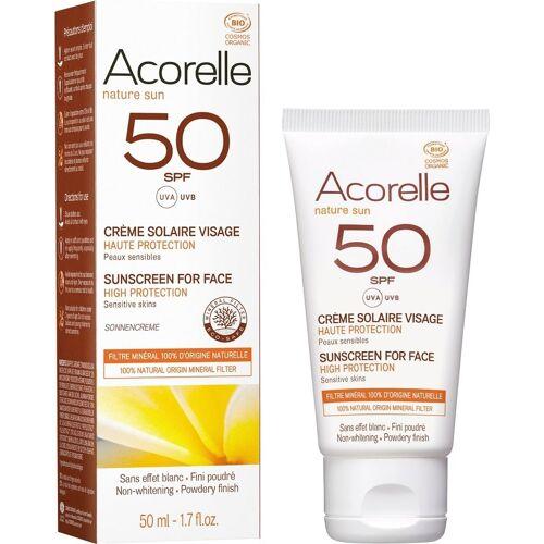 Acorelle Gesichts-Sonnencreme LSF 50 - 50 ml