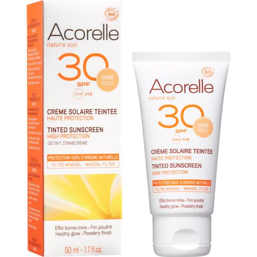 Acorelle Getönte Sonnencreme LSF 30 - 50 ml