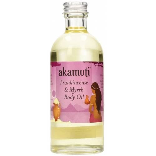 akamuti Frankincense & Myrrh Body Oil - 100 ml