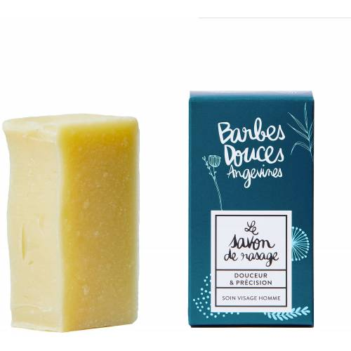 Douces Angevines Barbes Douces Rasierseife - 100 g