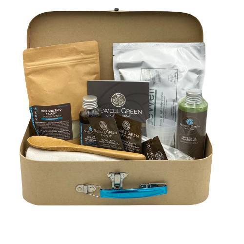 BeWell Green Slimming Case - 1 Set