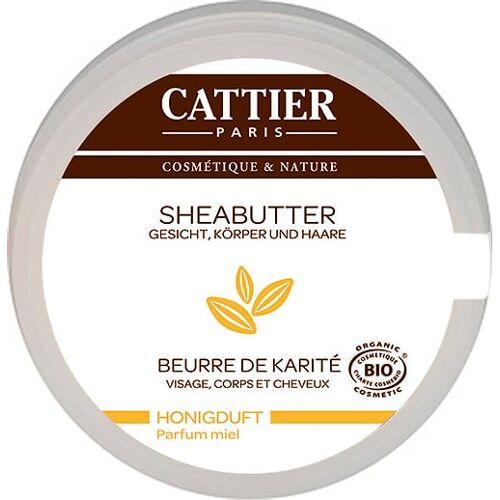 CATTIER Paris Sheabutter mit Honigduft - 100 g