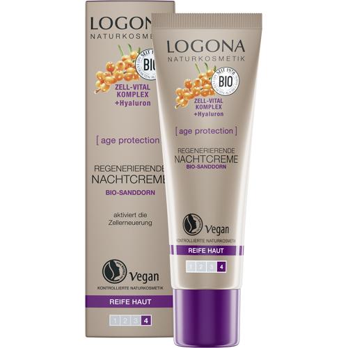 LOGONA age protection Regenerierende Nachtcreme - 30 ml