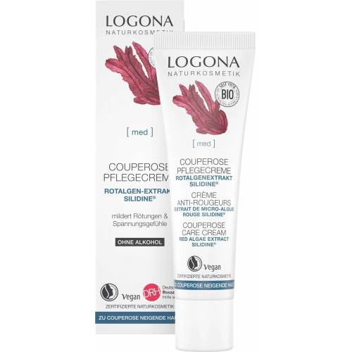 LOGONA med Couperose Creme für Tag & Nacht  - 30 ml