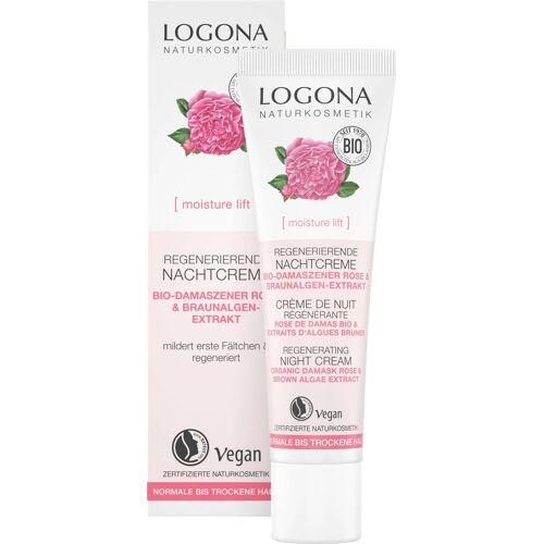 LOGONA moisture lift Regenerierende Nachtcreme - 30 ml