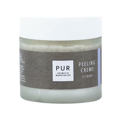 PUR Peelingcreme Zitrone - 90 g