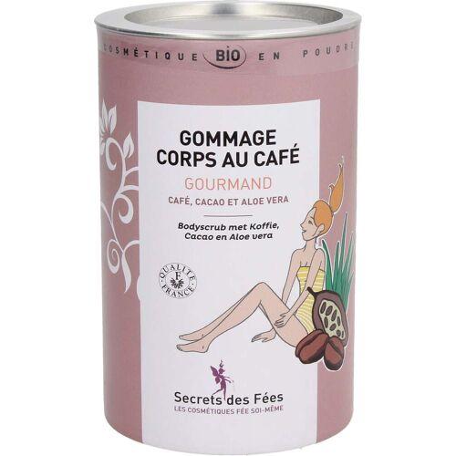 Secrets des Fées Naschkatzen Körperpeeling Kaffee, Kakao & Aloe Vera - 200 g