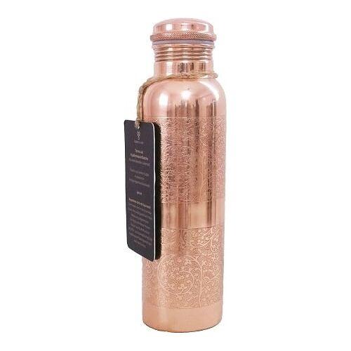 FORREST & LOVE Gravierte Kupferflasche - 900 ml